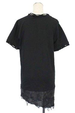 画像2: 【新品】裾ダメージTシャツ(Tshirt) g_tp
