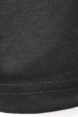 画像5: 【新品】丸カン半袖カットソー(黒) g_tp