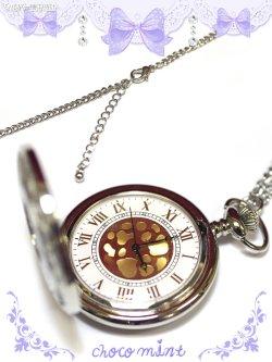 画像2: 【新品】シルバー懐中時計