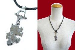 画像4: 【新品】ウルフレザーネックレス(necklace)