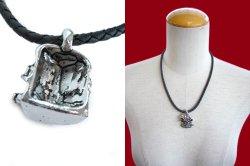 画像4: 【新品】スカルレザーネックレス(necklace)