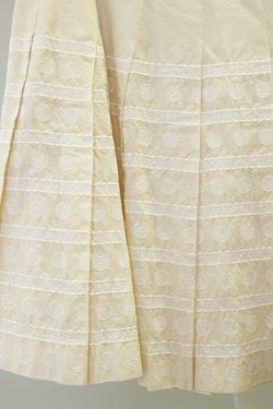 画像3: Jane Marple  / ドット&ボーダー刺繍スカート