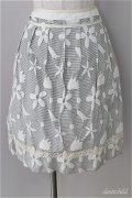【SALE】【20%OFF】Lois CRAYON  / フラワージャガードスカート