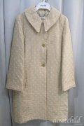 Jane Marple  / ドットジャガードのスプリングコート
