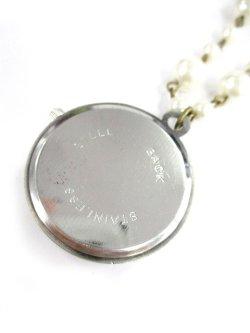 画像2: 【新品】時計の中のWonderLandネックレス(necklace)