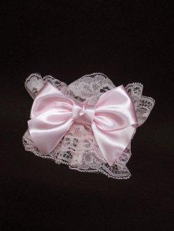 画像1: 【新品】メルヘンリボンお袖とめ(ピンク) ※1つのみ