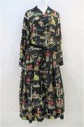 Jane Marple  / Alphabet francaisシャツドレス
