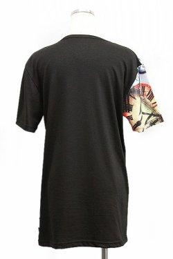 画像2: 【新品】時計pt切替Tシャツ(黒) g_tp