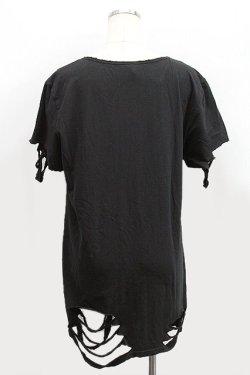 画像2: 【新品】裾クラッシュ半袖カットソー g_tp
