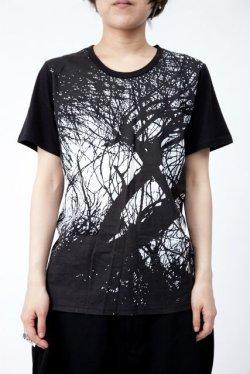 画像1: 【新品】枝プリントTシャツ(Tshirt) g_tp