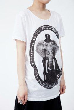 画像2: 【新品】エレファントTシャツ(白)(Tshirtwhite)