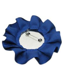画像2: 【新品】サテンリボン付きアリスバッジ(ブルー)