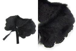 画像3: 【新品】 ファーレースティペット (ブラック)