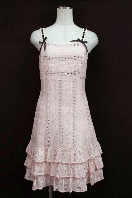 Emily Temple cute / はしごレース風ジャンパースカート