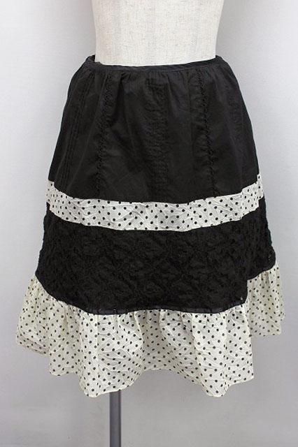 Emily Temple cute / レース切替ドットスカート3