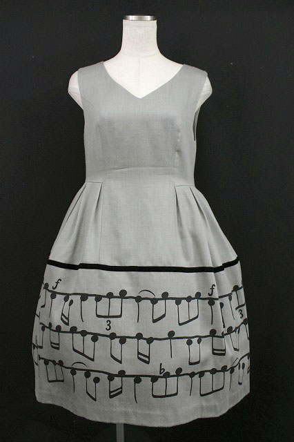 Jane Marple / Musical Noteジャンパースカート