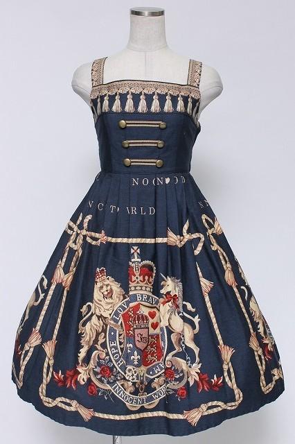 Innocent World / 紋章ゴブランハイウエストジャンパースカート