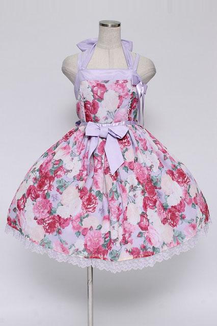 Angelic Pretty / メヌエットブーケジャンパースカート