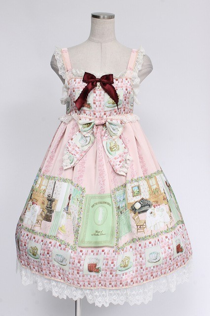BABY,THE STARS SHINE BRIGHT / 覚めない夢をみるための Re・ci・pe Shirly ジャンパースカート