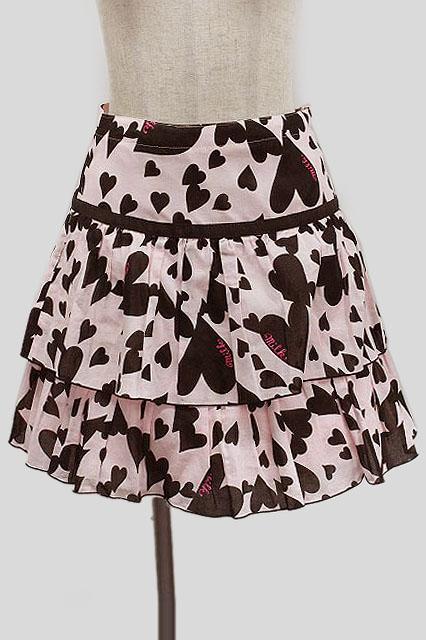 MILK / ハートビートスカート
