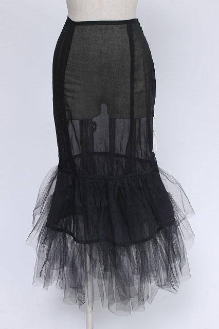alice auaa / 裾チュールロングスカート