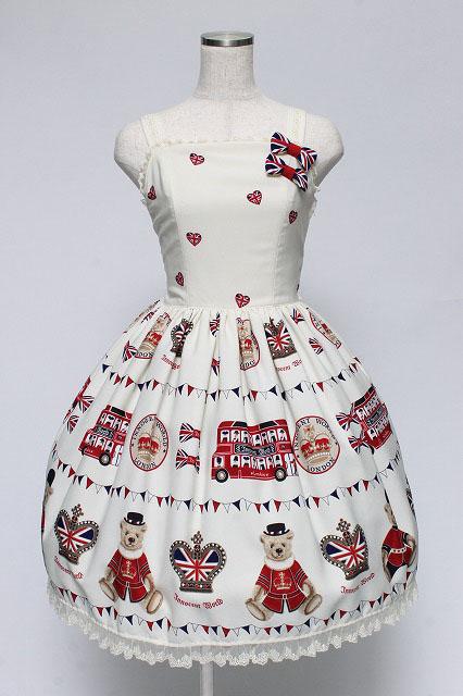 Innocent World / テディベアパレードジャンパースカート