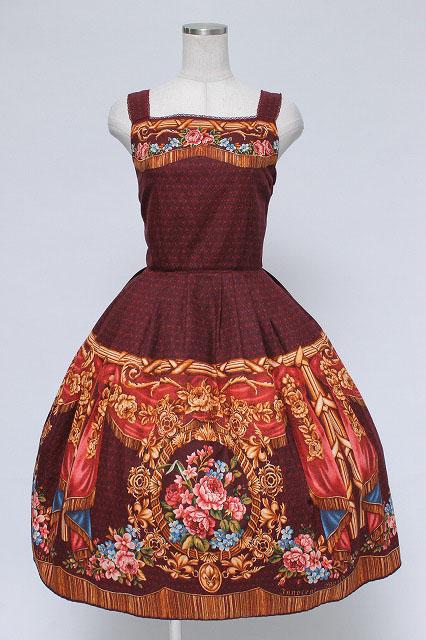 Innocent World / 宮殿の薔薇タックジャンパースカート