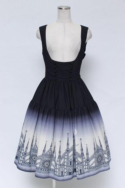 Innocent World / 月夜の教会ティアードジャンパースカート