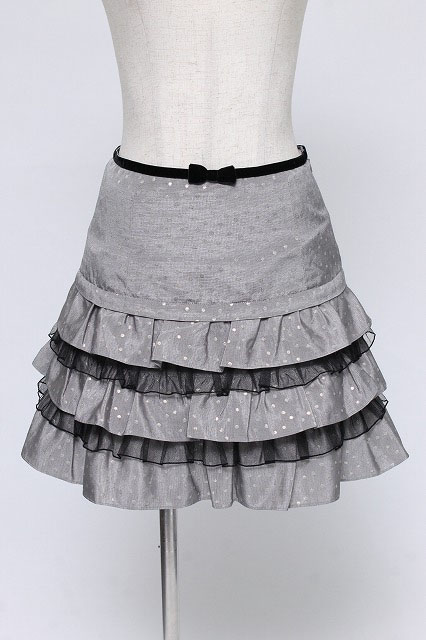 Emily Temple cute / ラメドットフリルスカート