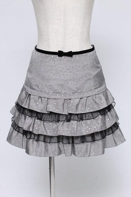 Emily Temple cute / ラメッドットフリルスカート