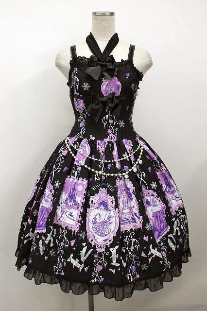 ALICE and the PIRATES / 氷の女王と白の魔法ジャンパースカートI型