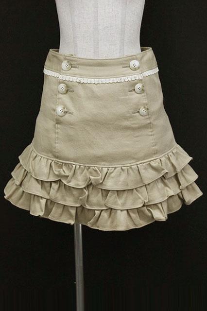 Emily Temple cute / 裾フリル後ろリボンスカート0