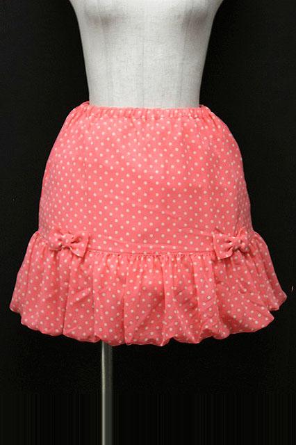 Emily Temple cute / シフォンドットリボンスカート