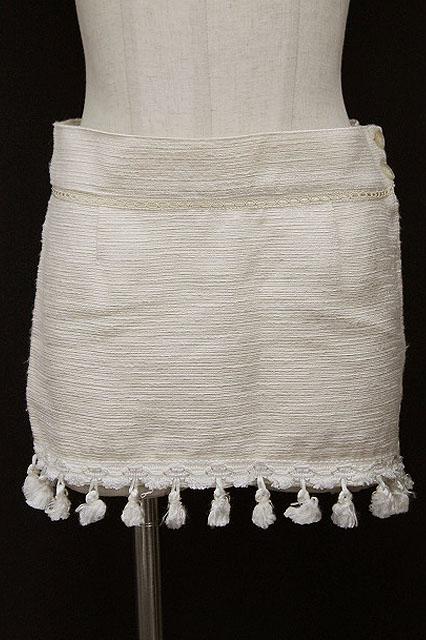 alice auaa / タッセル付きタイトスカート