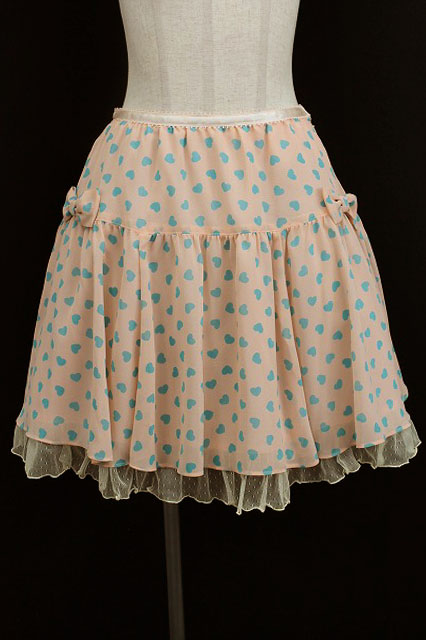Emily Temple cute / ジョーゼットハートスカート