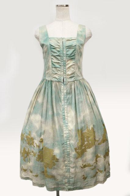 Jane Marple / Golden gooseレースアップドレス
