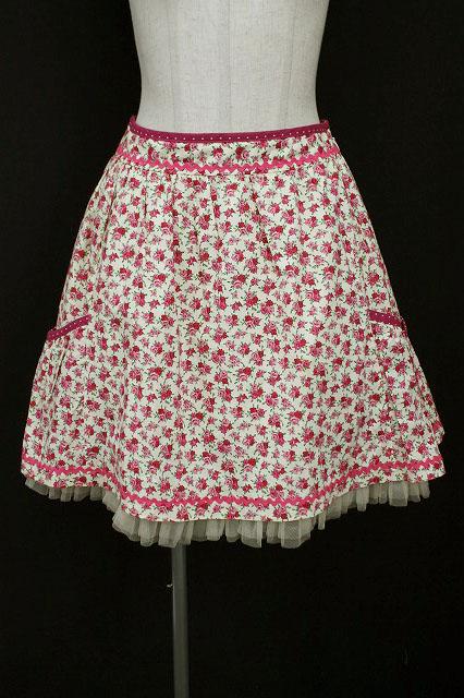 Emily Temple cute / サイドポッケ花柄スカート