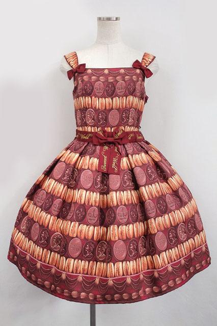 Innocent World / チョコマカロンジャストウエストジャンパースカート