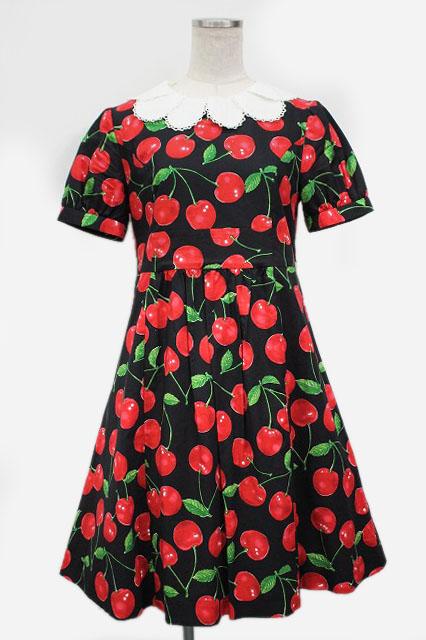 Jane Marple / Royal Cherry ワンピース