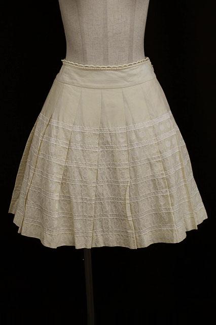 Jane Marple / ドット&ボーダースカート