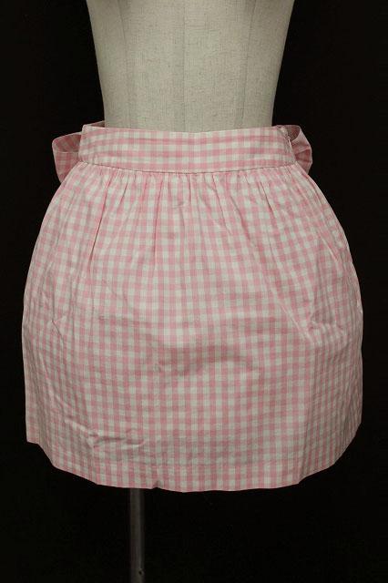 Jane Marple / ギンガムエプロン風スカート