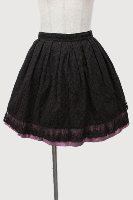 BPN / コットンレーススカート