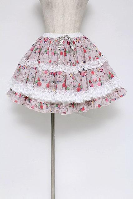 FRILL / とろけるマカロンスカート