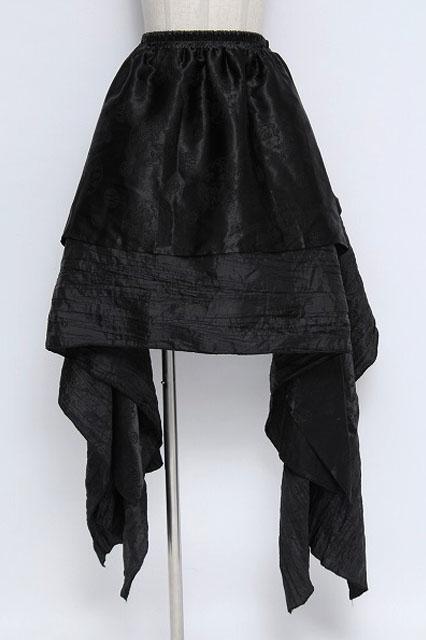 Qutie Frash / 紋章織イレギュラースカート