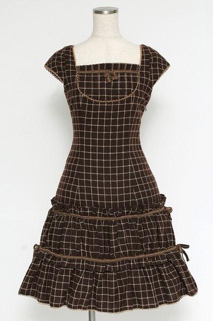 Victorian Maiden / ブロックチェックワンピース