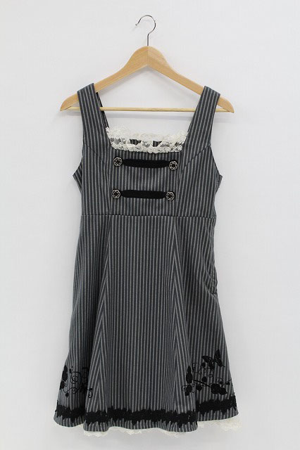 PUTUMAYO / ウールナポレオン刺繍ジャンパースカート