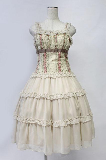 Victorian Maiden / ペタルフリルビスチェドレス