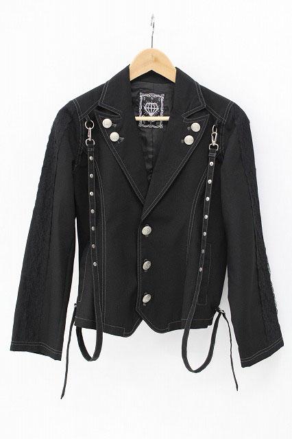 ALGONQUINS / 袖飾りレーステーラードジャケット