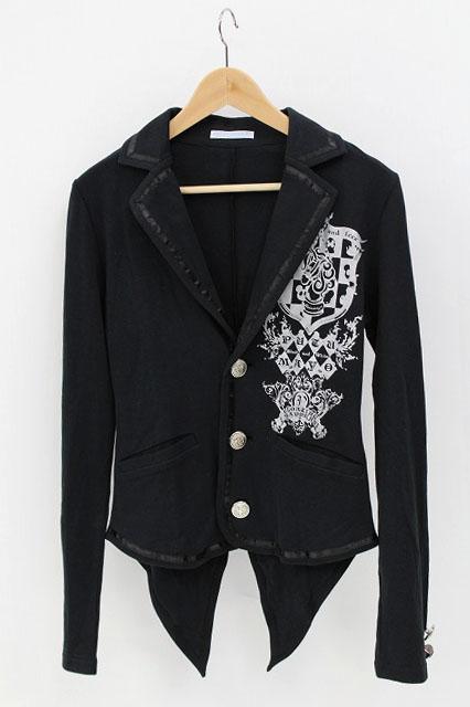 PUTUMAYO / エンブレムプリントカットジャケット