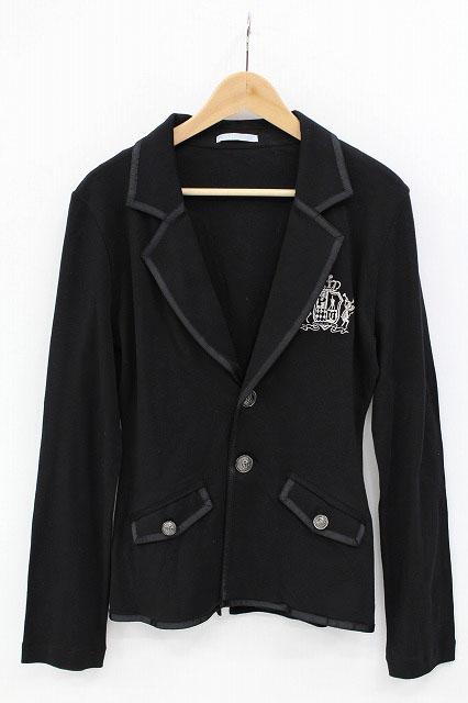 PUTUMAYO / うさぎエンブレム刺繍カットジャケット